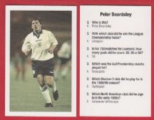 England Peter Beardsley Newcastle United